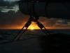 Sunset in the traveler