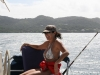 Christine taking the helm out of Grenada