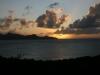 Union Island sunset from Mayreau