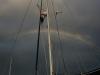 Rainbows before the rain