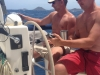 Boys Navigating