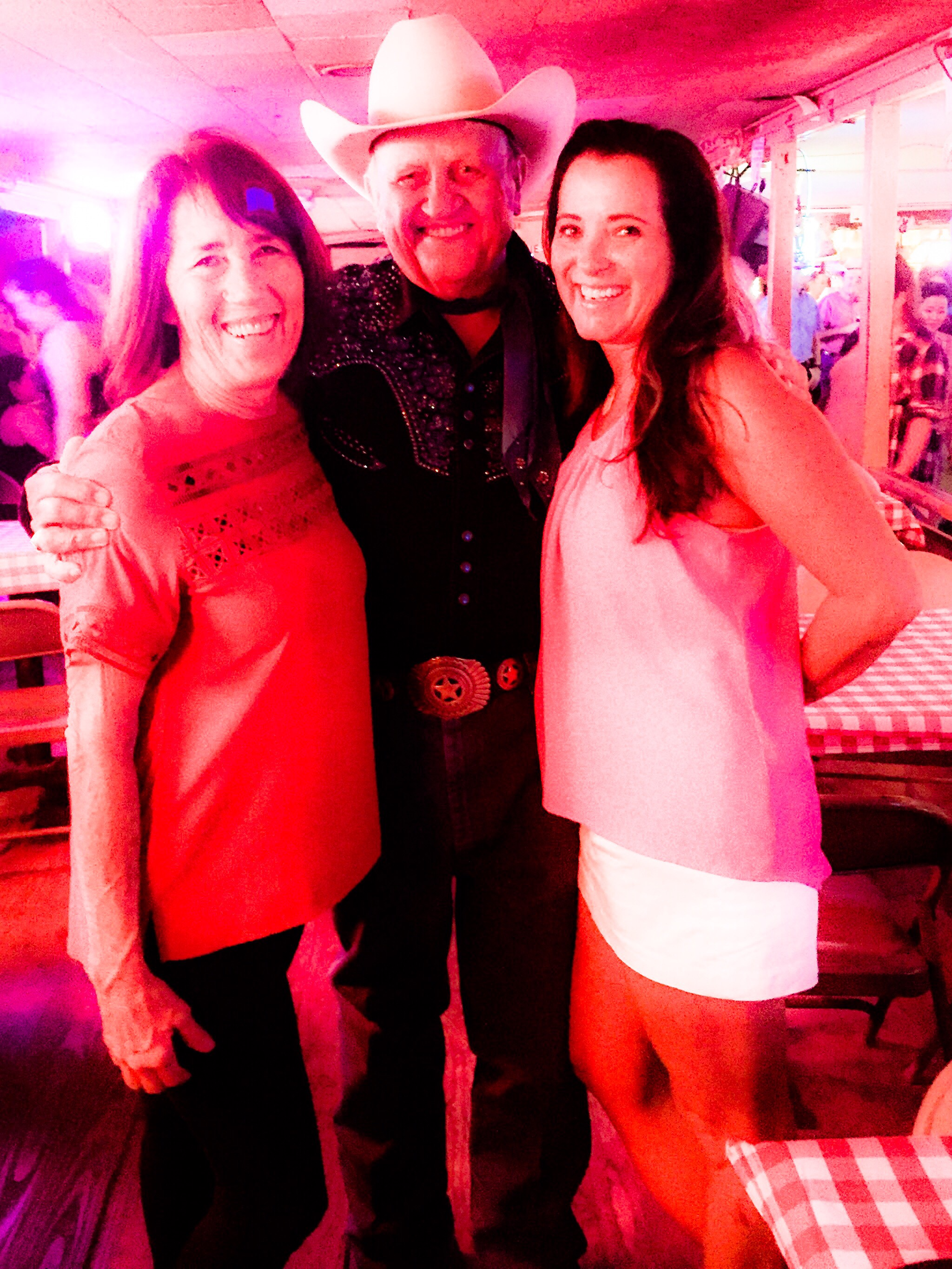 We met the owner of The Broken Spoke, James White.