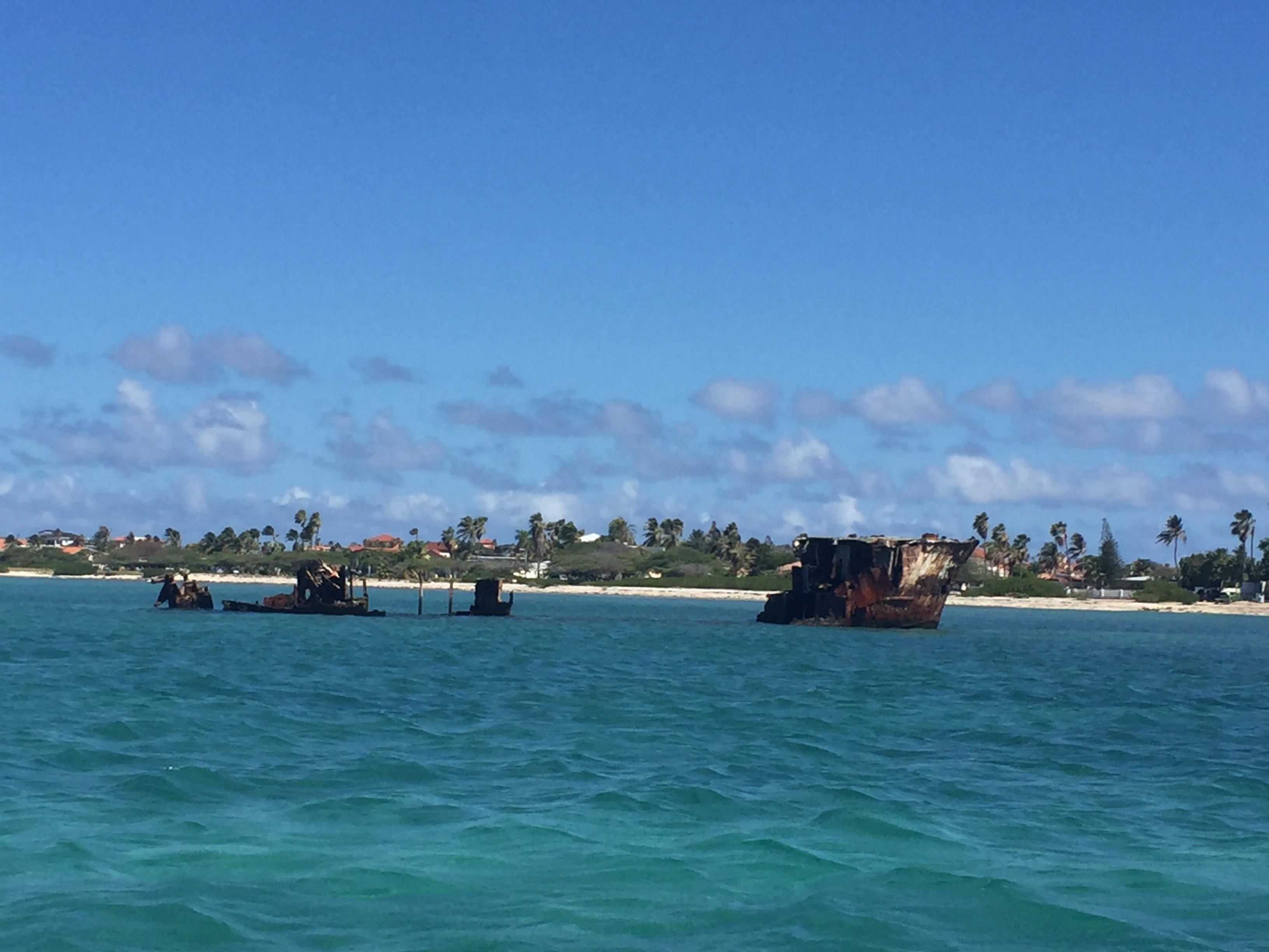 Aruba wreck dive - Baboo