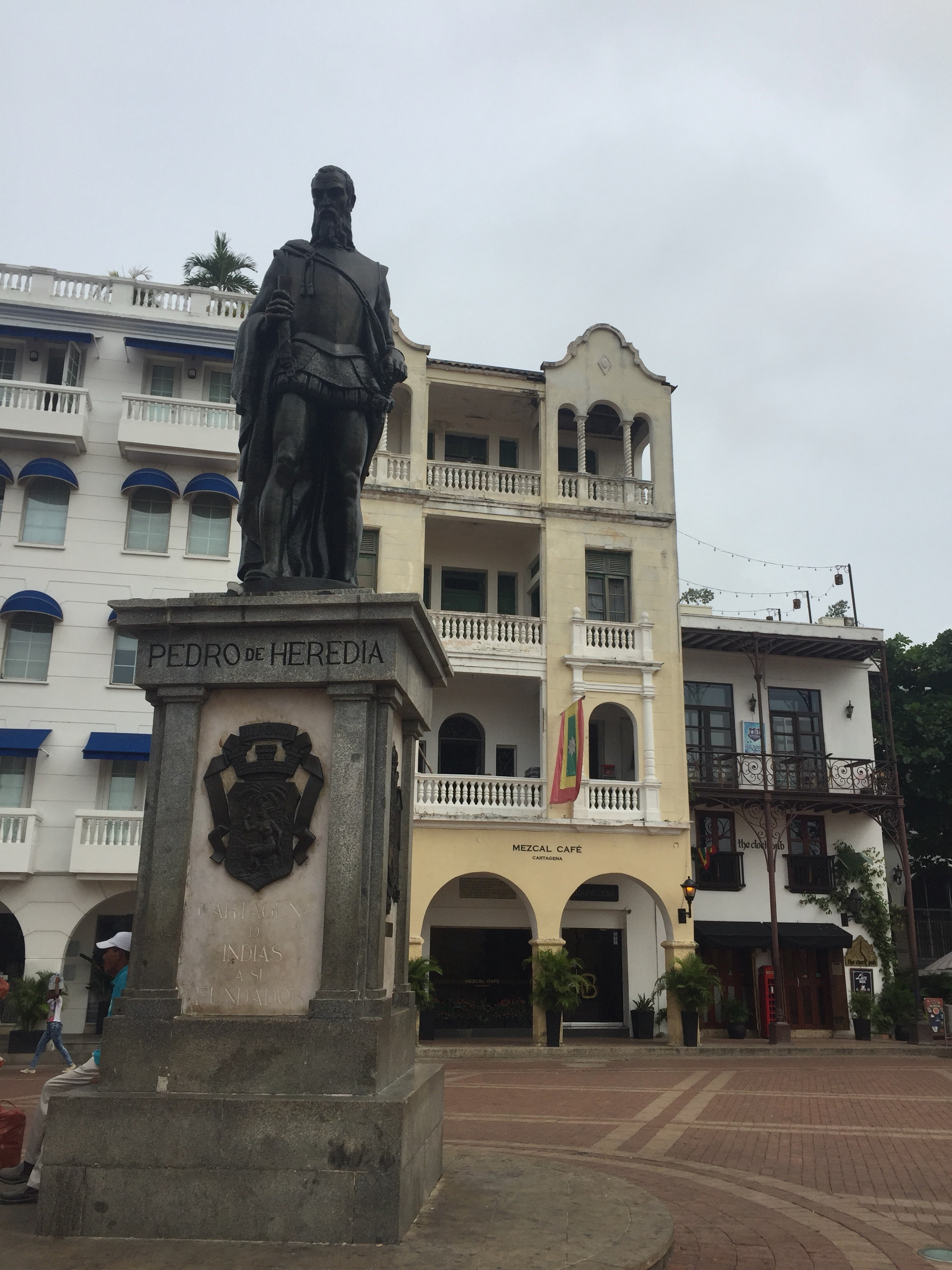 Pedro de Heredia was a Spanish conquistador, founder of the city of Cartagena de Indias