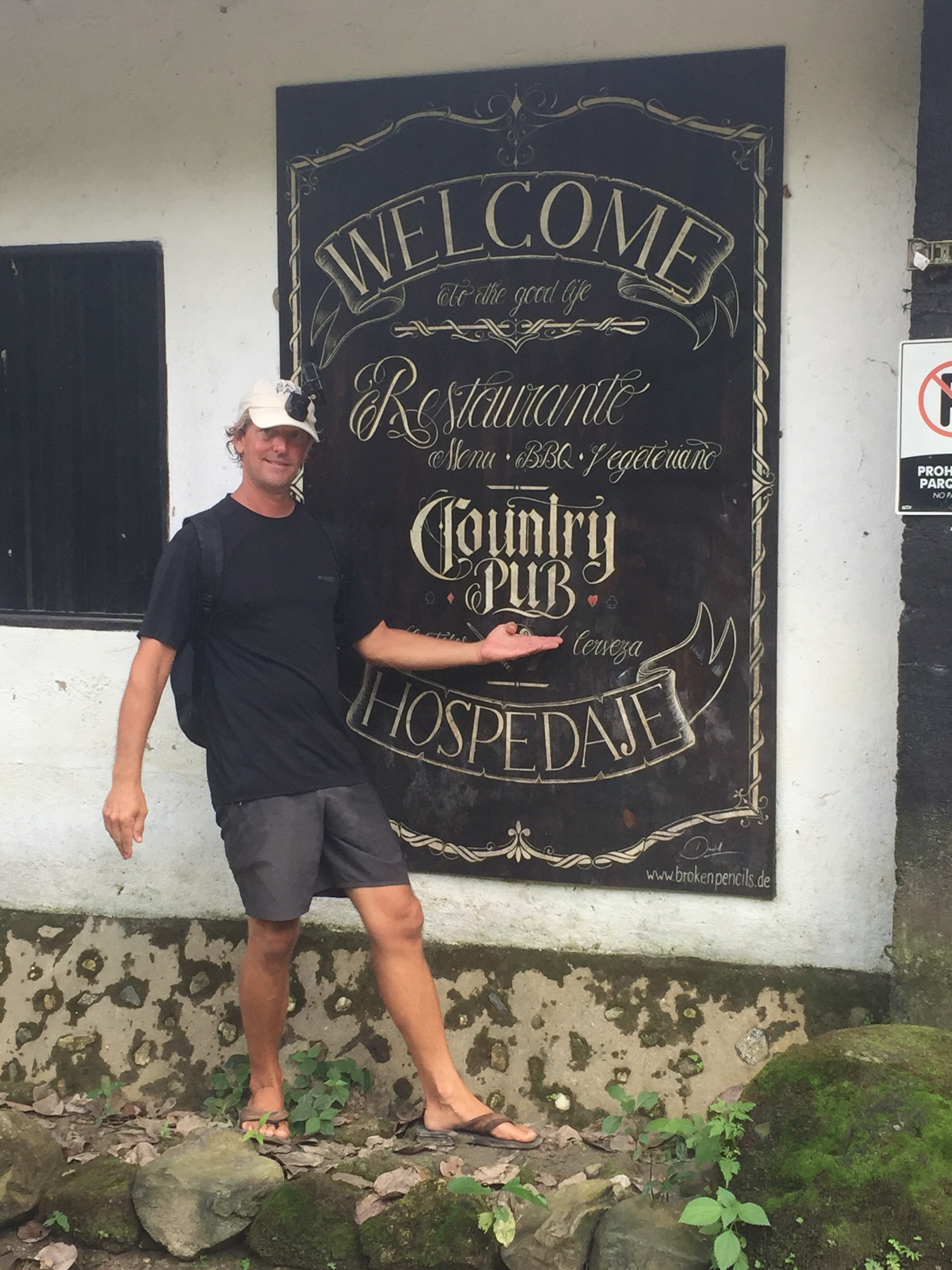 Matt found a Country Pub.