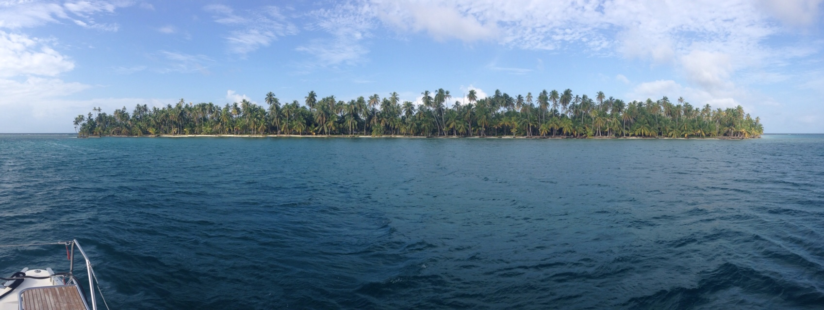 Approaching Green Island