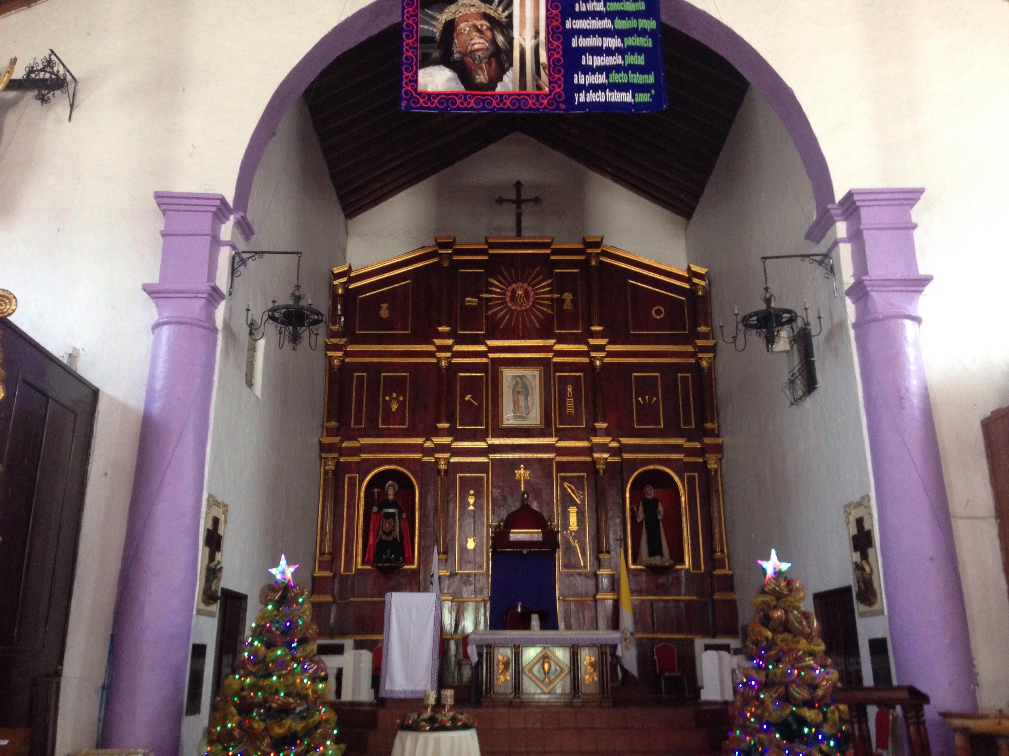 Interior of Iglesia de San Juan de Dios