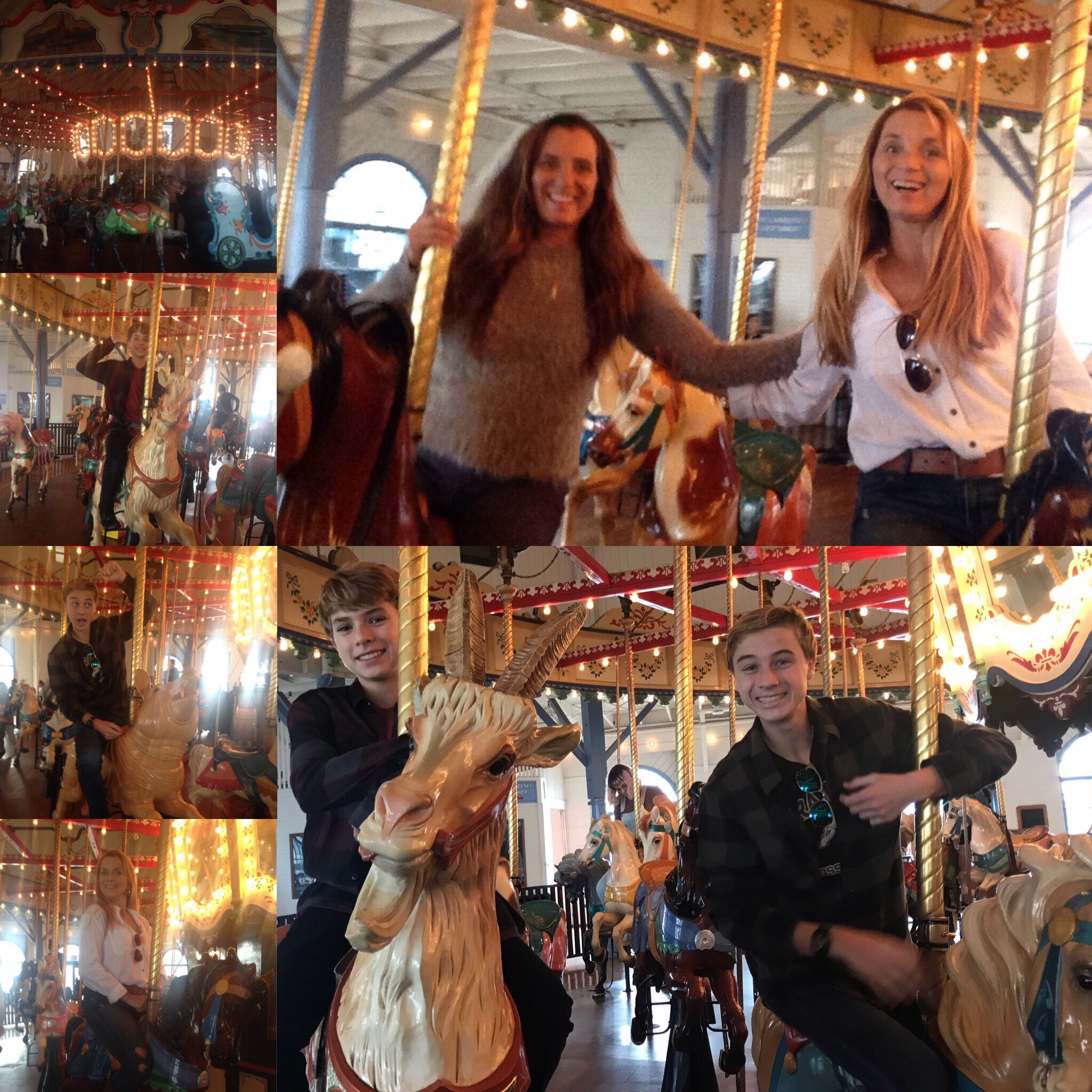 Santa Monica Merry-Go-Round Adventure
