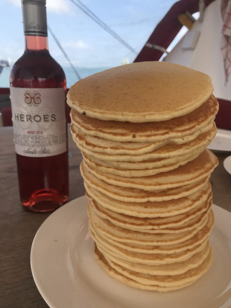 Pancakes and Rose