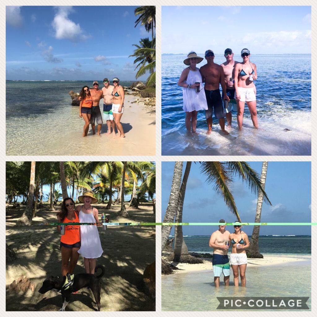 First island stop in San Blas-Yansaladup