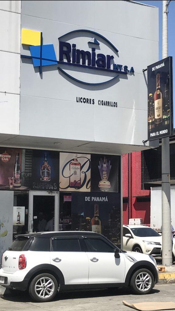 Rimiar Int. liquor distributor.