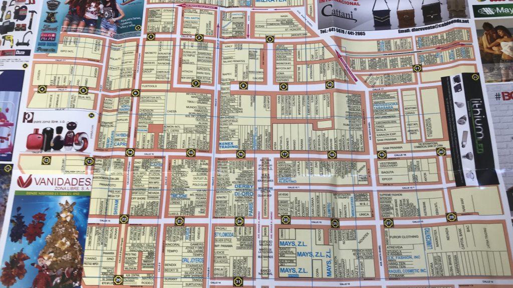 Zona Libre map