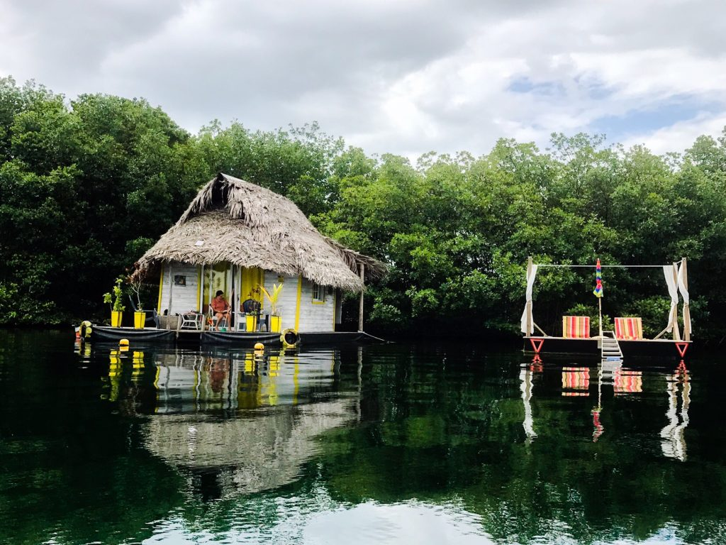 Floating House in Bocas del Toro
