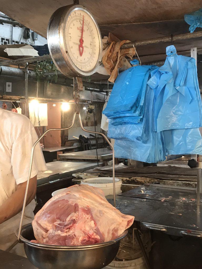 20 lb pork shoulder from fresh markets.