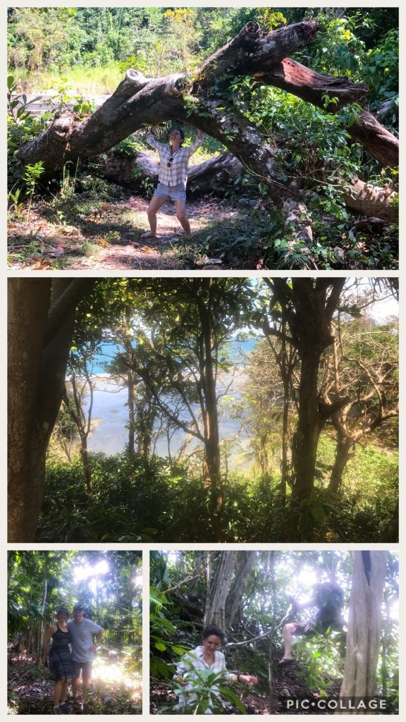 Hike around SBM.