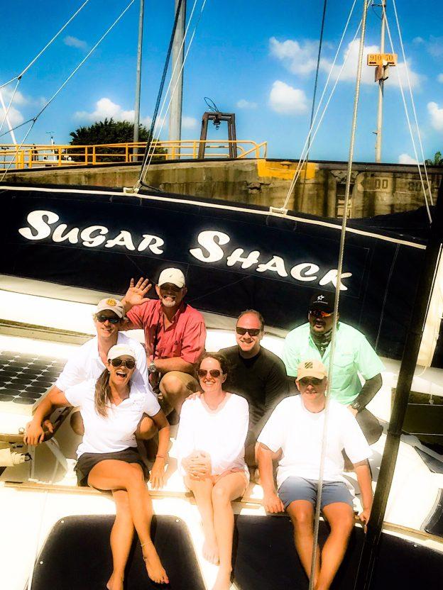 Sugar Shack Crew ecstatic about transit.