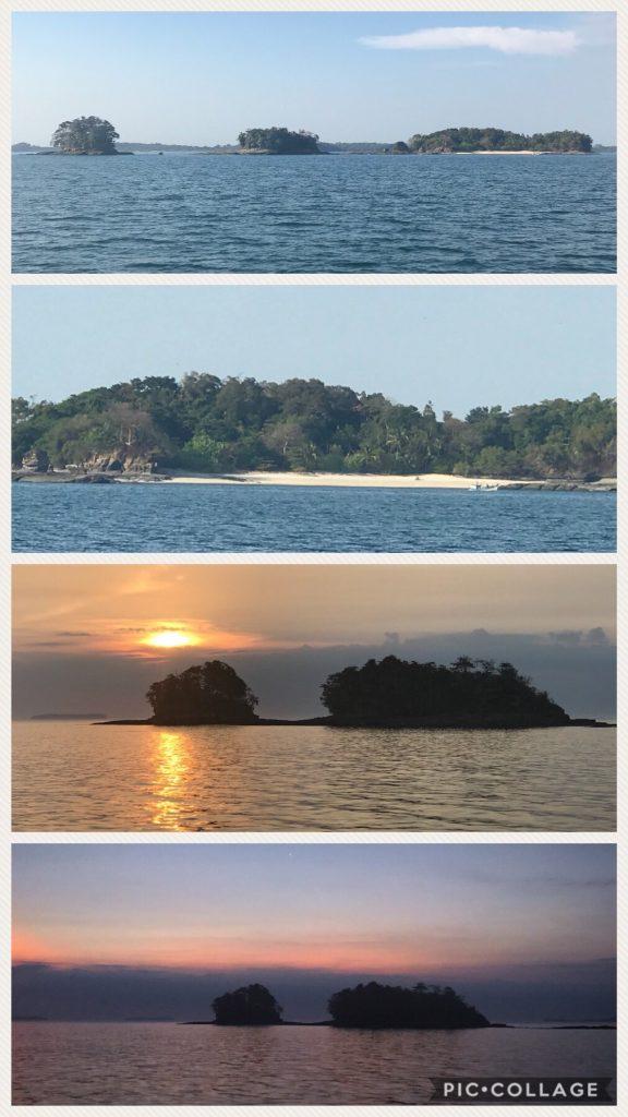 The beautiful islands of Isla de Feunche