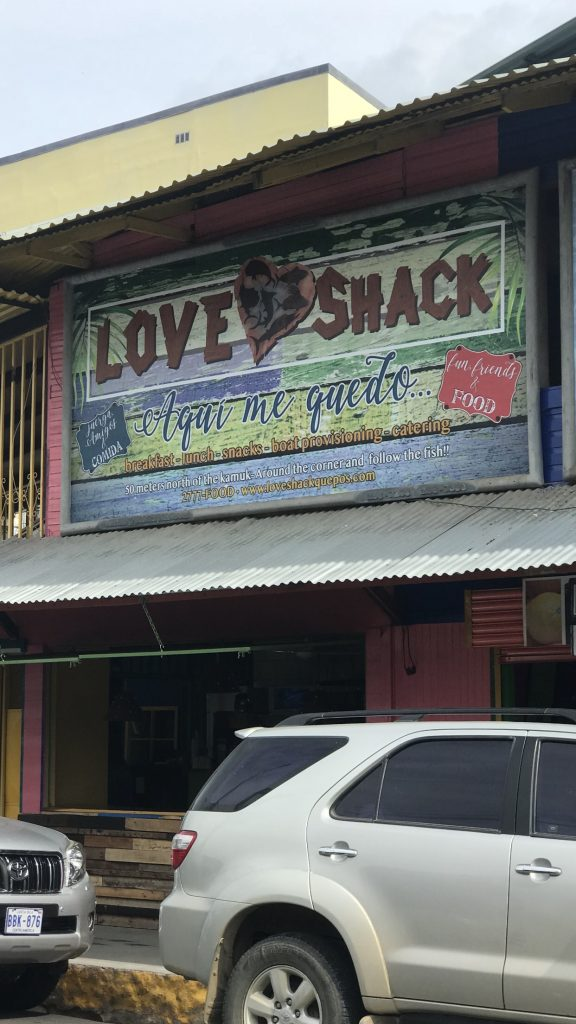 Not Sugar Shack but the Love Shack
