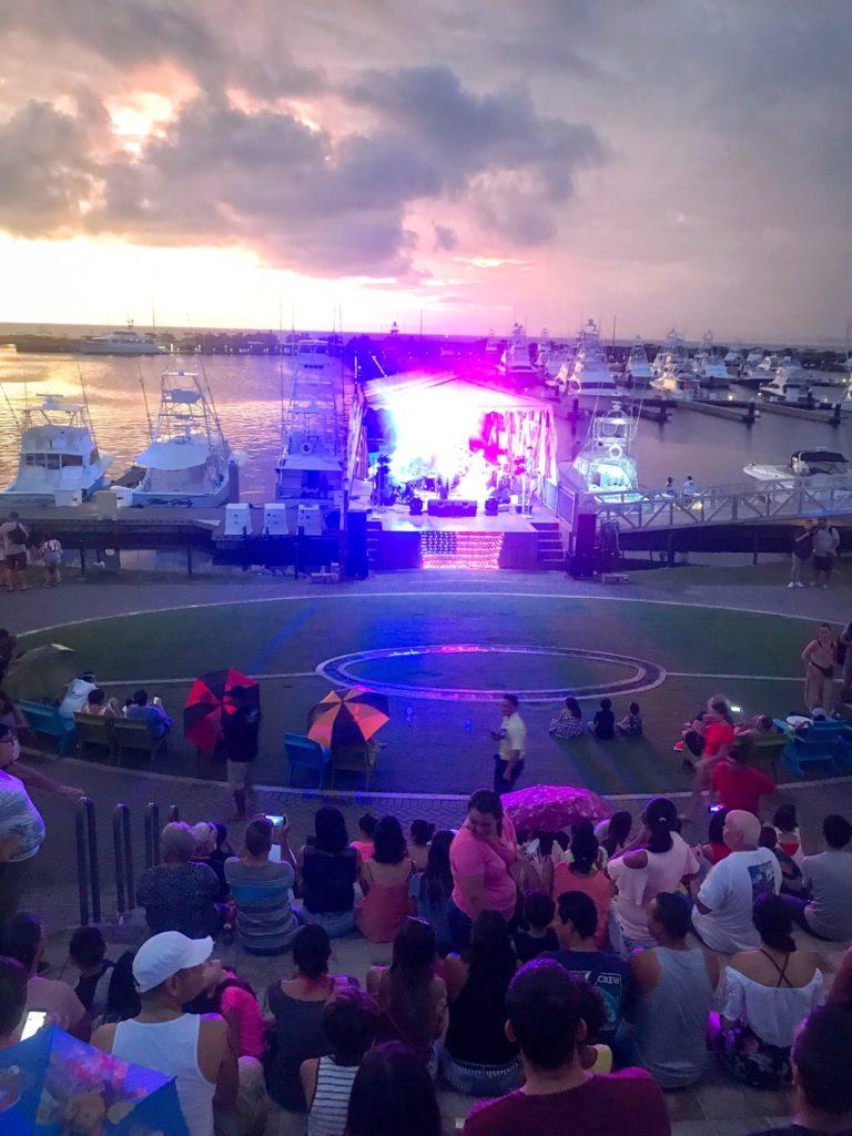 Band at Marina Pez Vela Celebrations