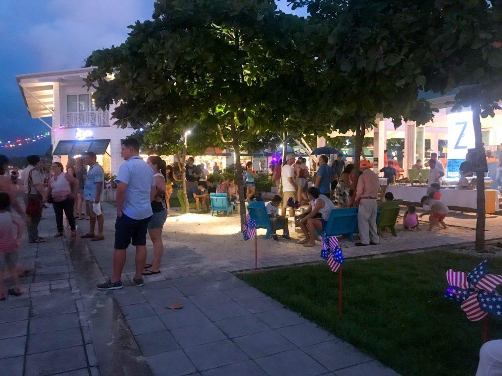 Beachu hang out area at Marina Pez Vela Upper Deck
