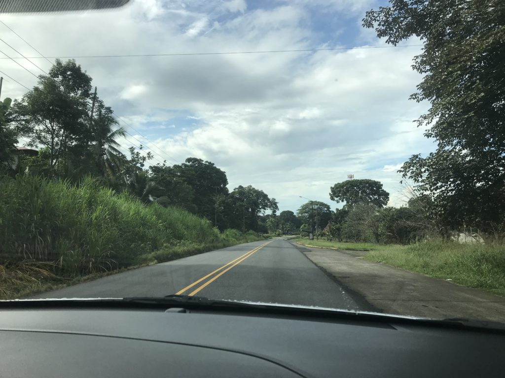 Hwy 34 Costa Rica to Panama