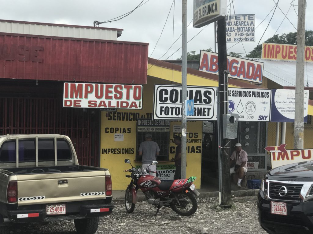 Exit Tax Payment Center Costa Rica