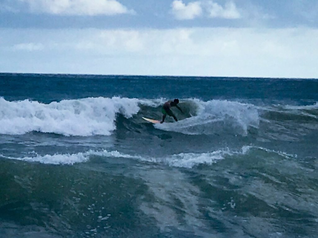 Surfer in Domincal
