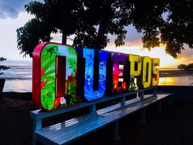 Quepos and Sunset