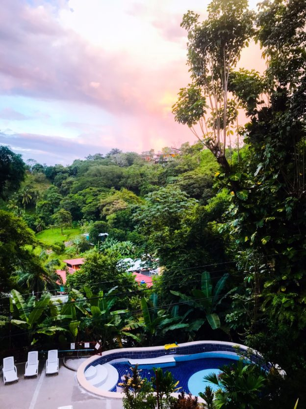 View from Unit 7 at Manuel Antonio Estates
