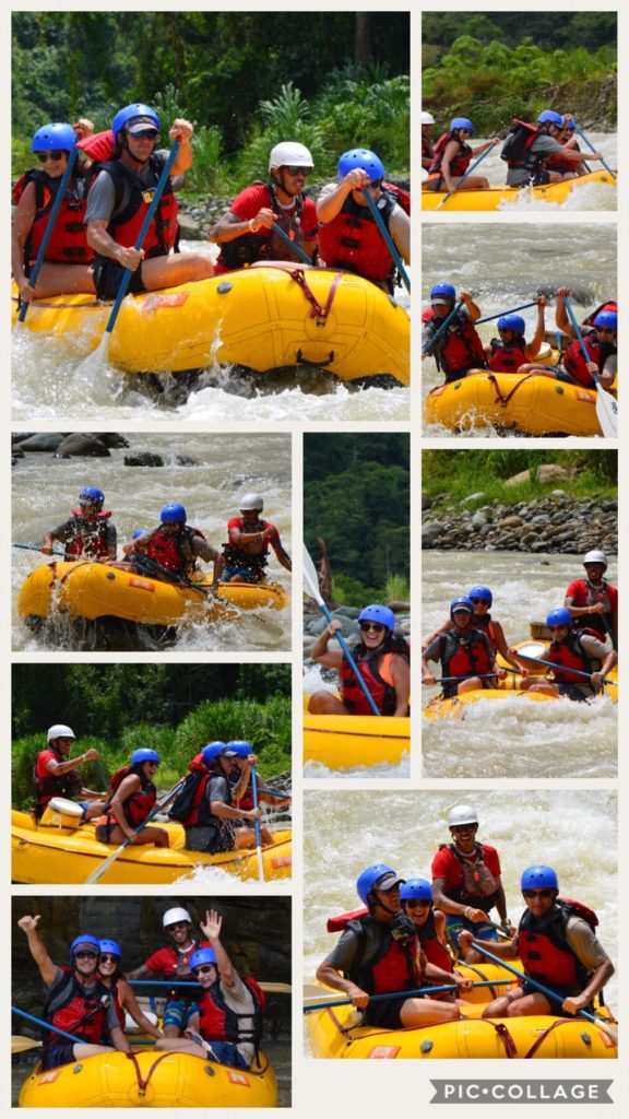 Rafting the Savegre River