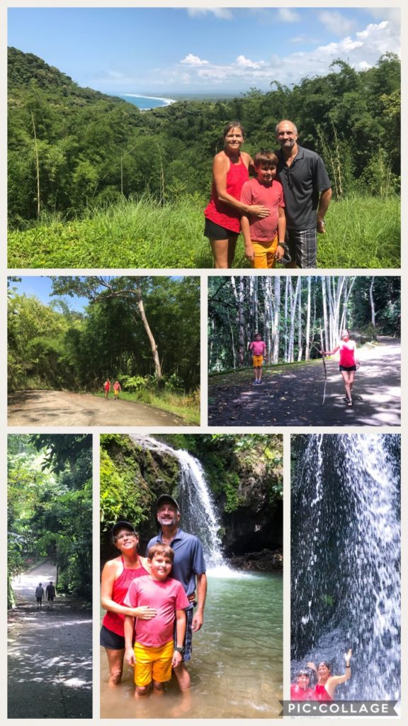 Manuel Antonio Estates Waterfall Hike