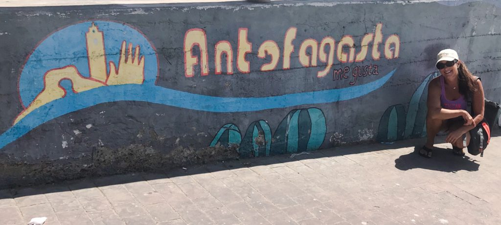Couldn't find the typical Antofagasta Sign, so this will have to do.