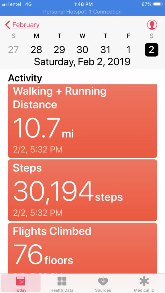 10-Mile Walk Proof