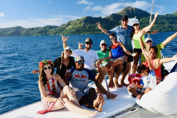 Cruising Friends in the Pacific