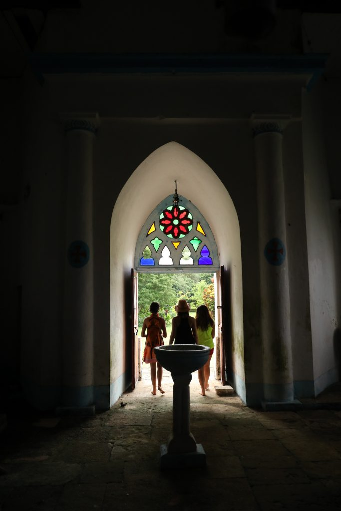 Inside Taravai Church