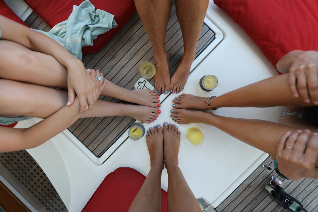 Toes and Toddy Party