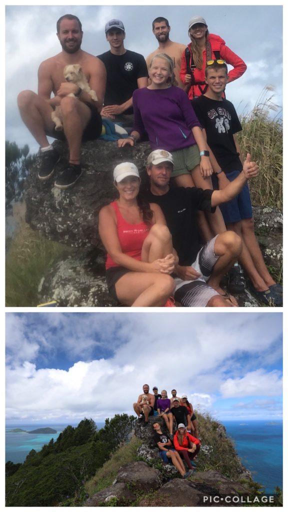 Top of Mount Duff