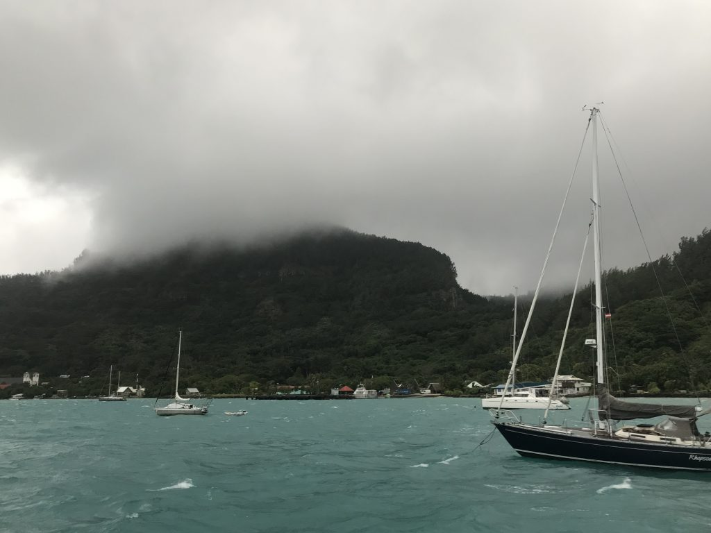 Mount Duff on a Cloudy Day