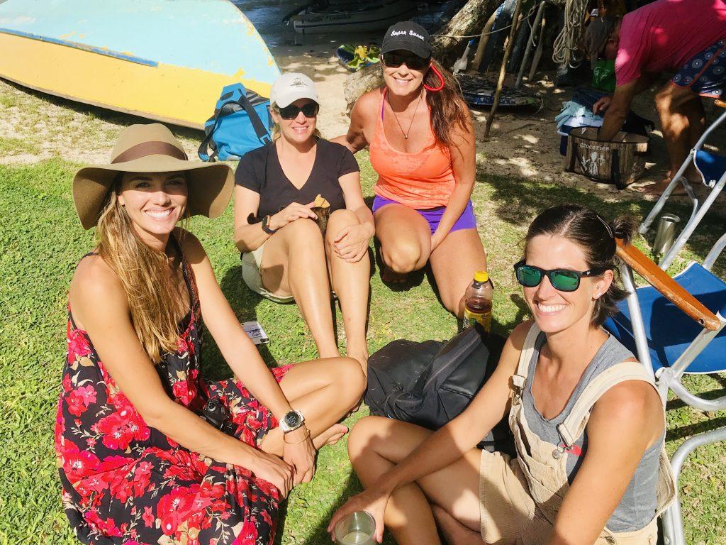 Girls at Taravia