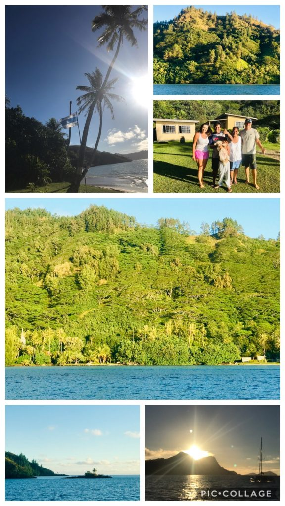 The beautiful islands of Taravai