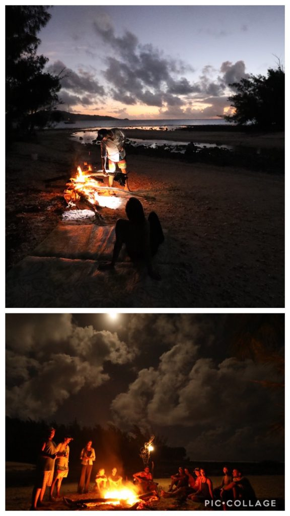 Bonfire Dinner Party