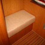 Master bench in master stateroom